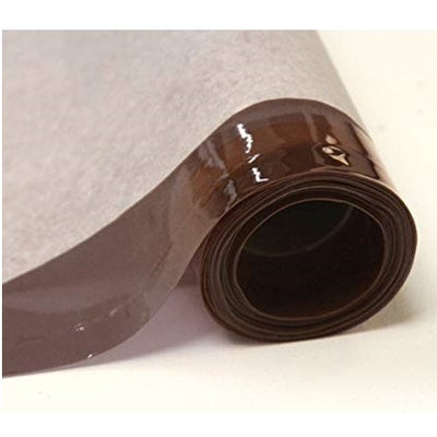 Brown 12 Gauge Tinted Plastic Vinyl Fabric