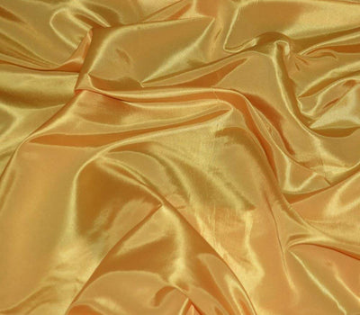 Yellow Taffeta Solid Fabric