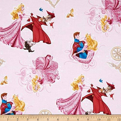 Disney Cinderella 100% Cotton Fabric