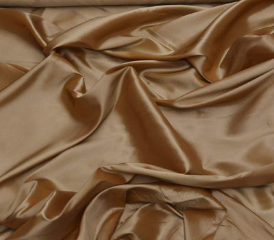 Gold Taffeta Solid Fabric