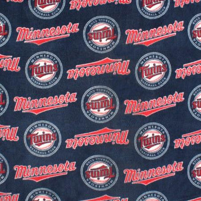 Minnesota Twins Premium MLB Solid Polar Fleece Fabric