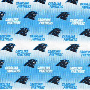 Carolina Panthers NFL 100% Cotton Print Fabric