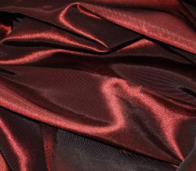 Burgundy Taffeta Solid Fabric