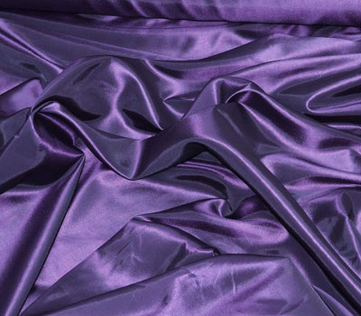 Purple Taffeta Solid Fabric