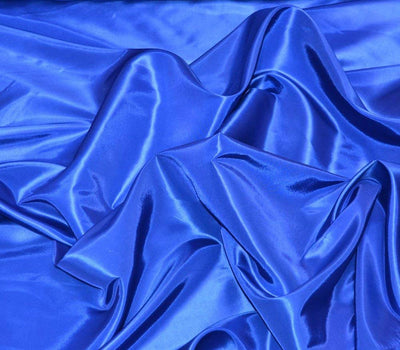 Royal Blue Taffeta Solid Fabric