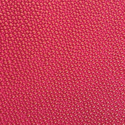 Fuchsia Gold Grain Reptile Embossed Vinyl Fabric / 40 Yards Roll