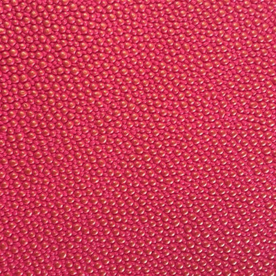 Fuchsia Gold Grain Reptile Embossed Vinyl Fabric
