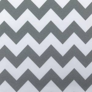 Waterproof Chevron Brown and Light Brown Canvas Outdoor fabric