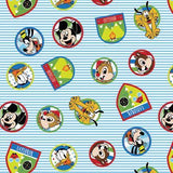 Disney Monkey and Friends 100% Cotton Fabric