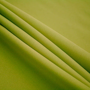 Avocado Polyester Poplin Fabric