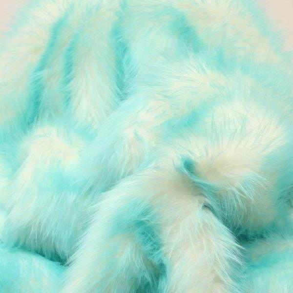 ARUBA Faux Fur Candy Shaggy Fabric Long Pile