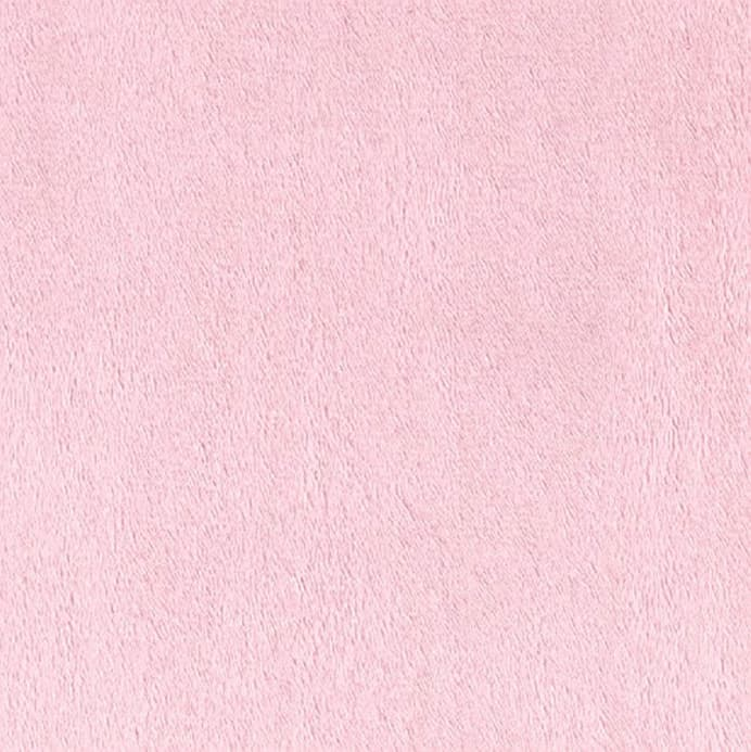 Light Pink Solid Minky Fabric