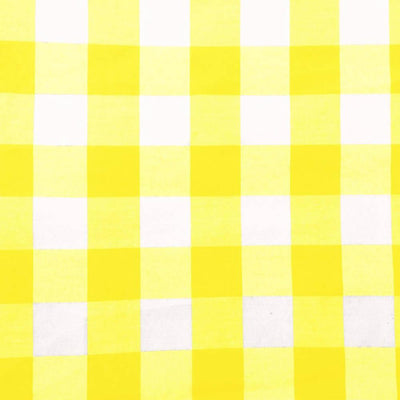 Yellow Checkered Gingham 1