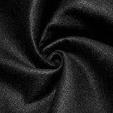 Black solid Acrylic Felt Fabric
