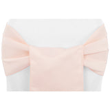 (12 Pack ) Blush Satin Sash