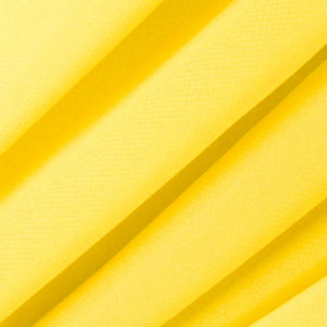 Bright Yellow Chiffon Fabric