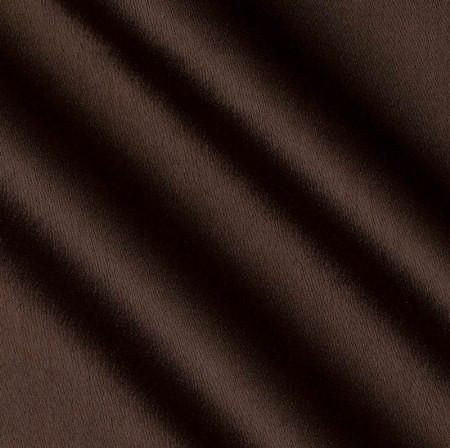 Crepe Back Brown Satin Fabric