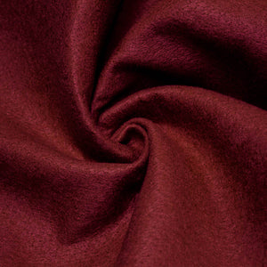Burgundy solid Acrylic Felt Fabric