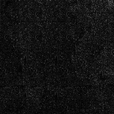 Black Glitter Sparkle Metallic Faux Fake Leather Vinyl Fabric / 40 Yards Roll