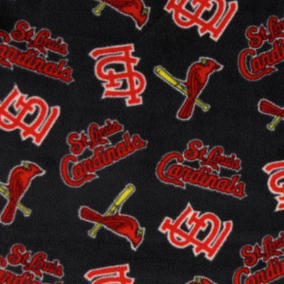 St Louis Cardinals Blue MLB Solid Polar Fleece Fabric