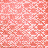 Coral Raschel Lace Fabric
