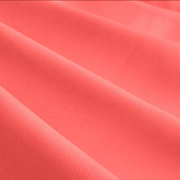 "60"" Coral Broadcloth Fabric"