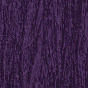 Purple Crushed Taffeta Fabric