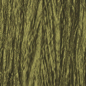 Olive Crushed Taffeta Fabric