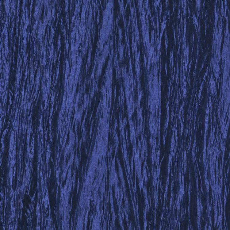 Royal Blue Crushed Taffeta Fabric