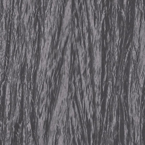 Charcoal Gray Crushed Taffeta Fabric