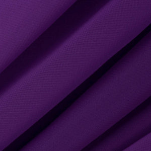 Dark Purple Chiffon Fabric