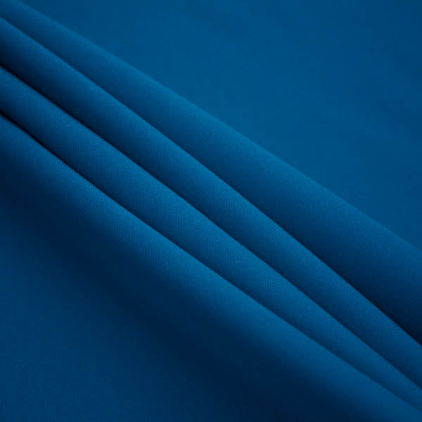 Teal Poly Poplin Fabric