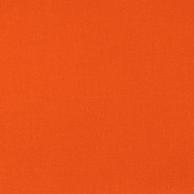 Orange Twill Fabric