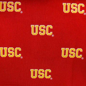 USC Trojans Allover NCAA 100% Cotton Print Fabric