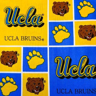 UCLA Bruins Patchwork NCAA 100% Cotton Print Fabric