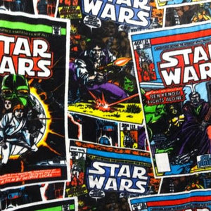 Star Wars Black Series Anti Pill Fleece Fabric