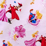 Disney Sleeping Ball Dance 100% Cotton Print Fabric