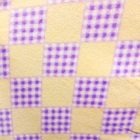 Solid and Checkered Anti Pill Plaid Fleece Fabric