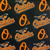 Baltimore Orioles Solid MLB 100% Cotton Print