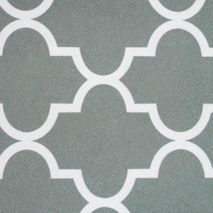 Gray Moroccan Canvas Fabric Waterproof Outdoor Fabric