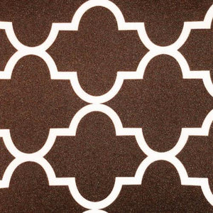 Brown Moroccan Canvas Fabric Waterproof Outdoor Fabric