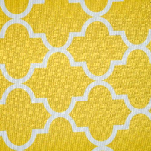 Yellow Moroccan Canvas Fabric Waterproof Outdoor Fabric