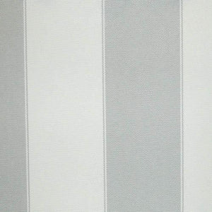 Light Gray Ivory Stripe Canvas Waterproof Outdoor Fabric
