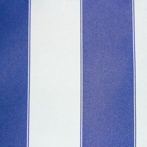 Royal White Stripe Canvas Waterproof Outdoor Fabric