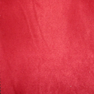 Red Micro Fiber Micro Suede Upholstery Fabric