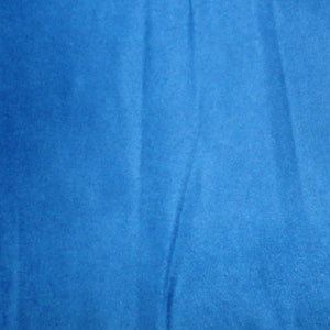 Royal Blue Micro Fiber Micro Suede Upholstery Fabric