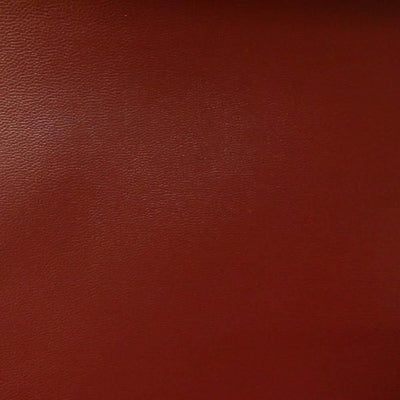 Burgundy 0.9 mm Thickness Soft Semi-PU Faux Leather Vinyl Fabric