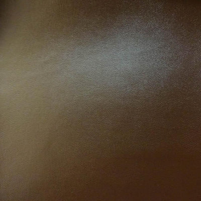 Brown Semi-PU Faux Soft Leather Fabric