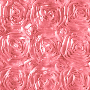 Rosette Satin Dusty Rose Fabric