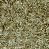 Dust Rosette Satin Fabric